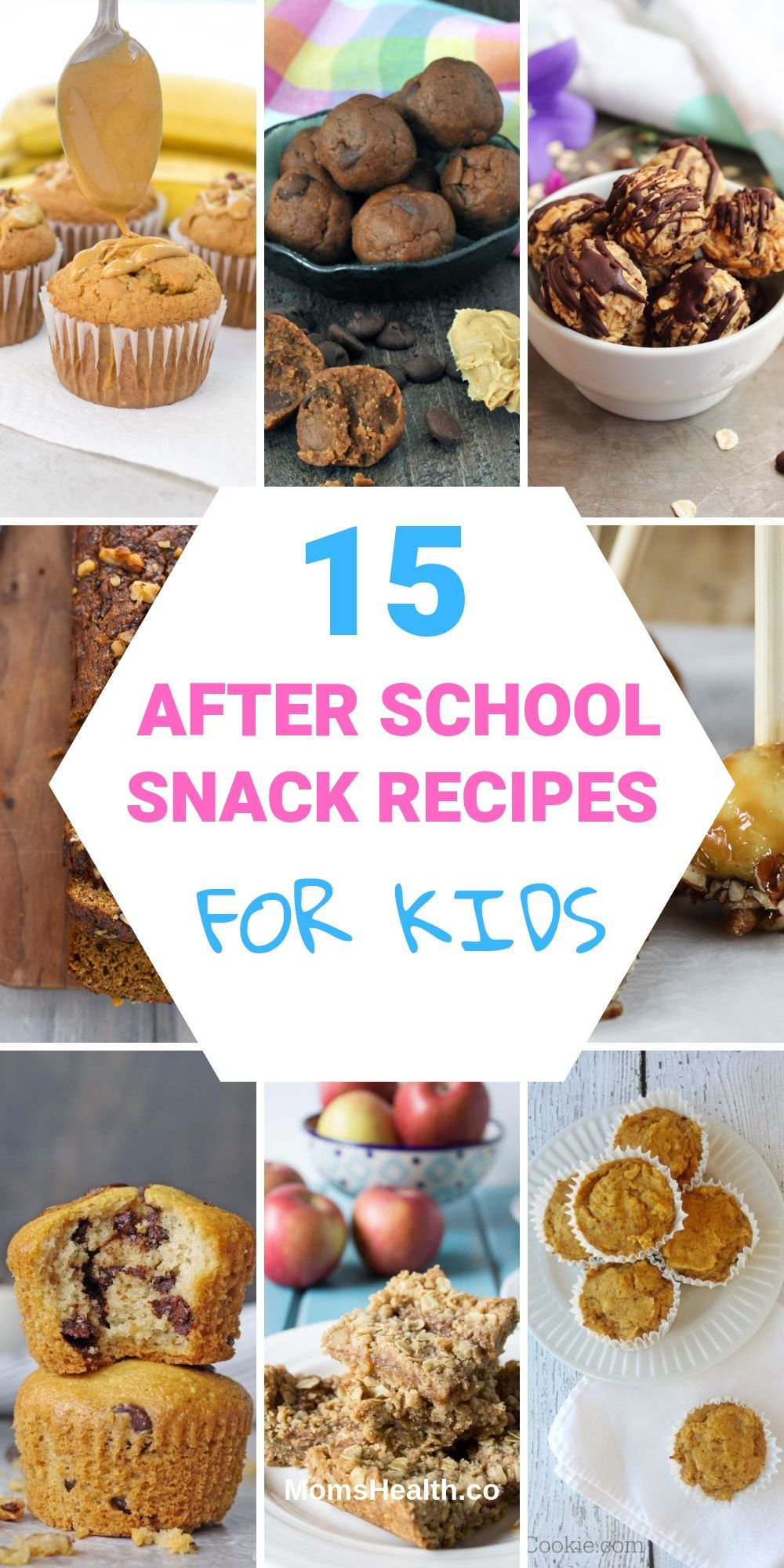 15 Easy After School Snack Recipes For Kids Healthy Make Ahead Ideas School Snack Recipe After School Snacks Kids Snack Food
