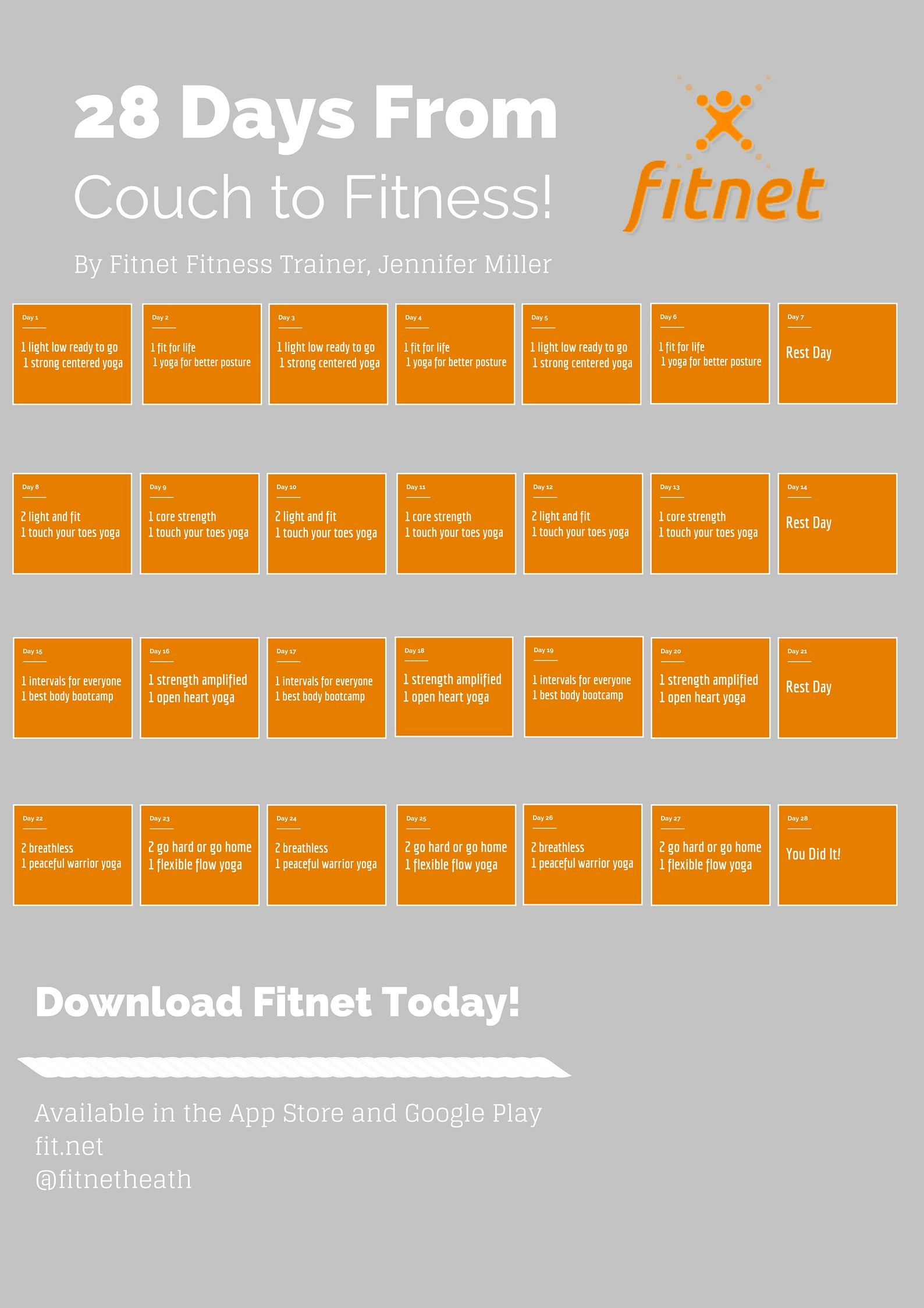 Get of the couch and get fit with HomeWorkout
