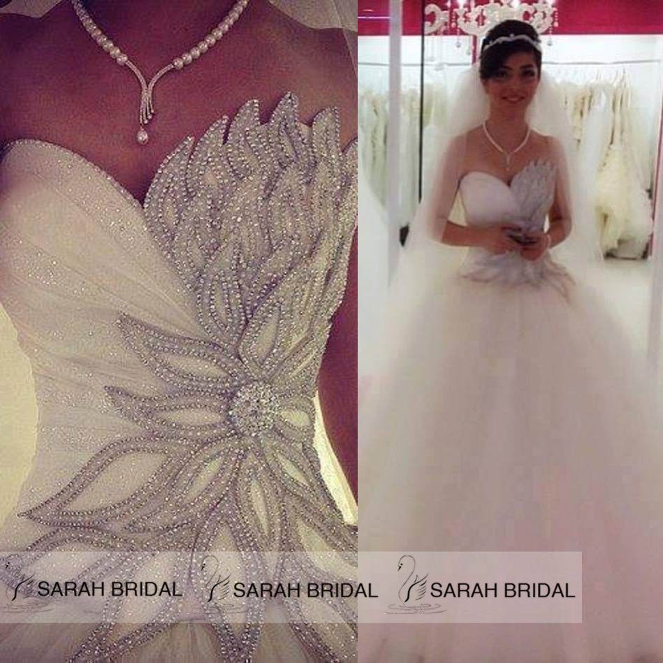 Handmade Corset Princess Wedding Dresses 2015 Tulle A Line Bridal Ball Gowns New Asymmetrical Wedding Dress Bridal Wedding Dresses Wedding Dresses [ 949 x 949 Pixel ]