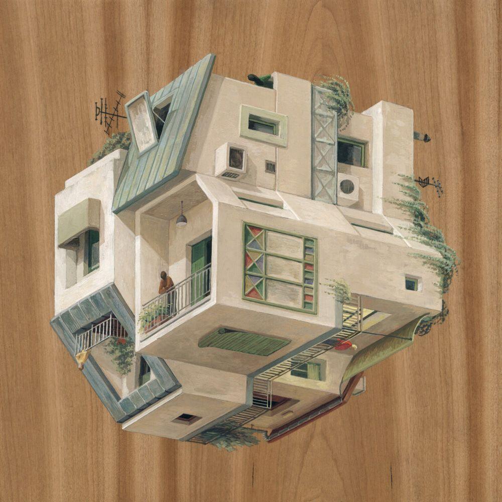 Charmant Surreal Architectural Drawings By Cinta Vidal Agulló