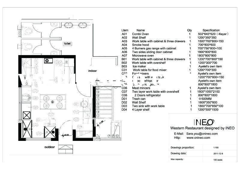 Free Commercial Kitchen Design Software Free Commercial Kitchen Arch Floor Plans