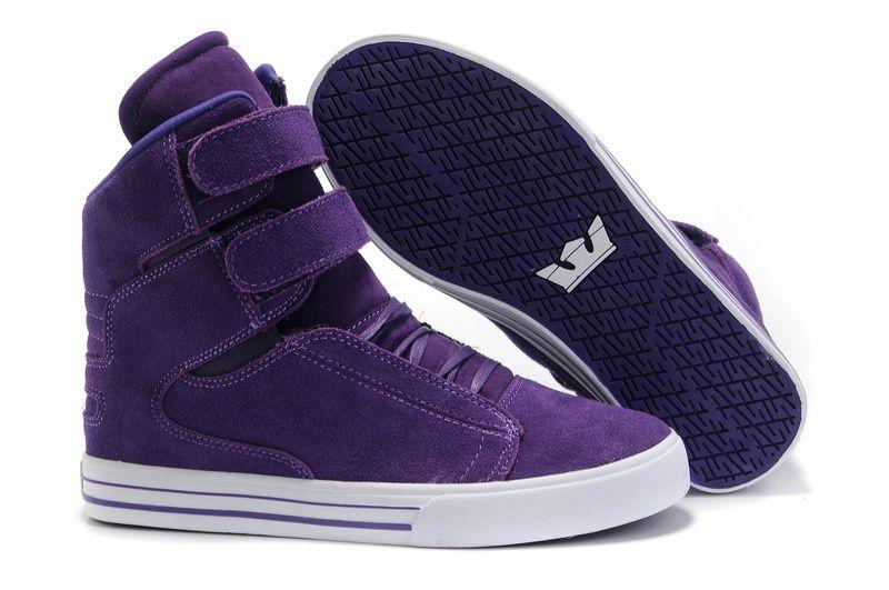 purple supra,Men Supra Tk Society