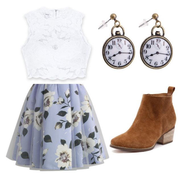 """Spring"" by kkendallloren on Polyvore featuring Chicwish and Bebe"