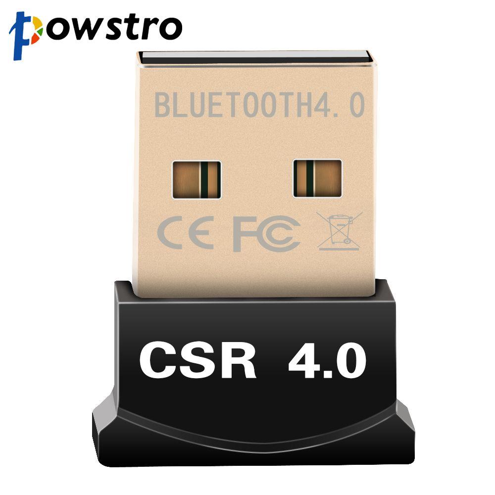 Bluetooth V4.0 USB 3.0 Mini Dongle EDR Adapter for PC Windows 7 8 10 Vista XP