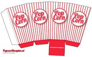 Little Muna Diy Popcron Cup Template Popcorn