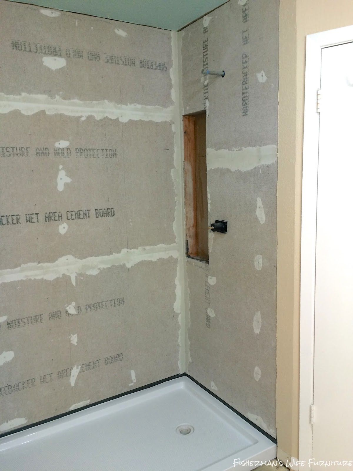 Diy Master Bathroom Shower Prep With Images Master Bathroom