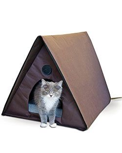 outdoor heated cat house for multiple cats heated cat house cat