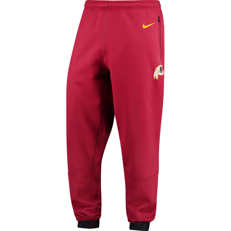 712b78b5 Washington Redskins Nike Sideline Player Therma Pants - Burgundy ...