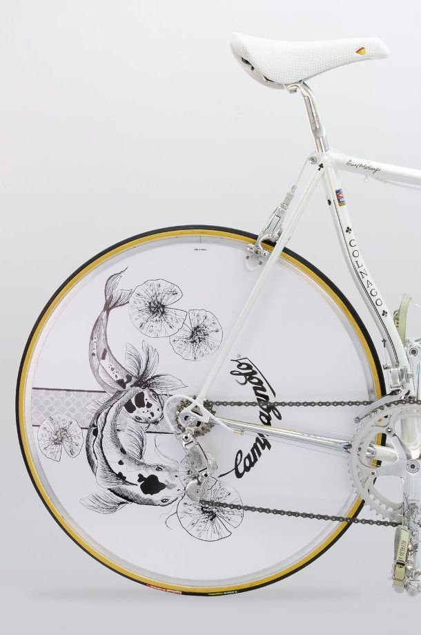 Japanse Illustraties Fiets 4 Bicycle Brands Bicycle Art
