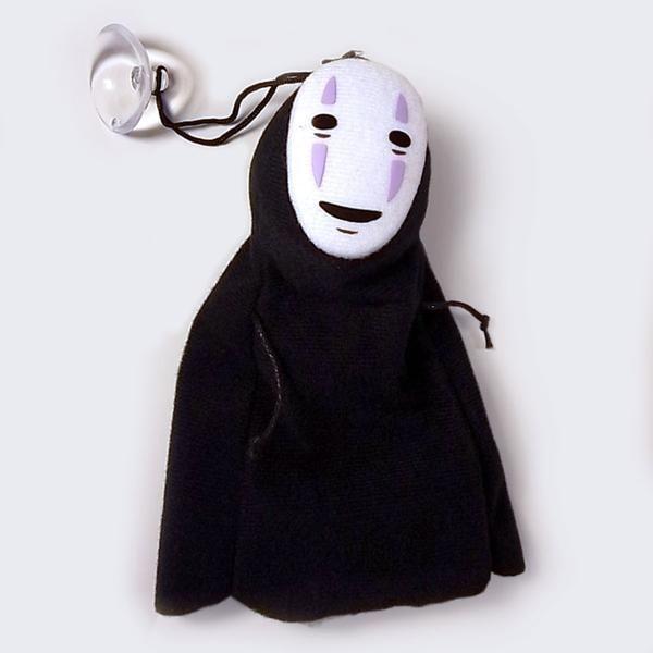 "Spirited Away No Face Kaonashi 6"" Plush (with Suction Cup)"