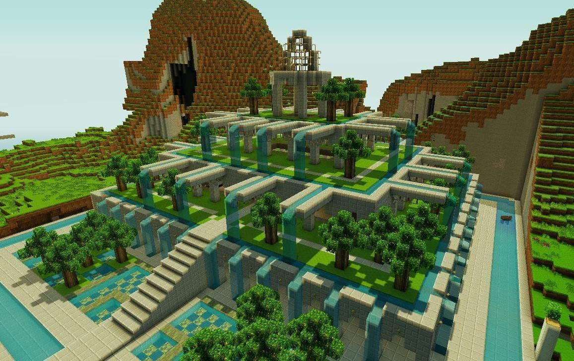 Pretty Little Gardens Minecraft Map Minecraft Gebaude