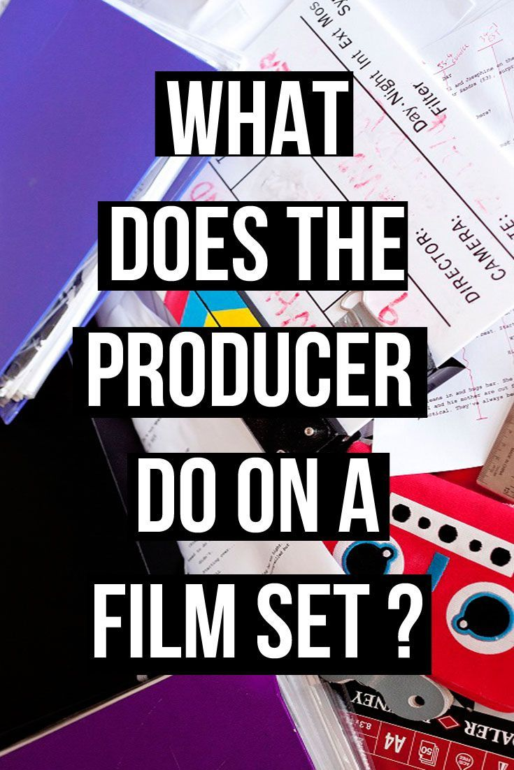 Article - What does the producer do on a film set? | Filmmaking ...