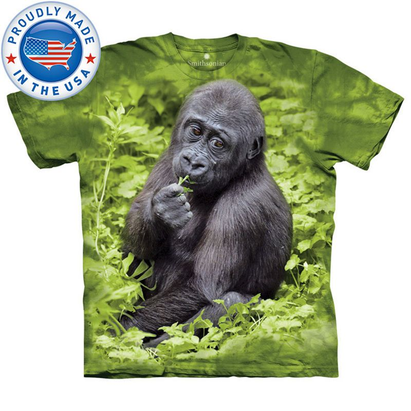Born To Be Free Sublimation Full Front Print TSHIRT//Tiger//Bear//Gorilla//Funny//Top