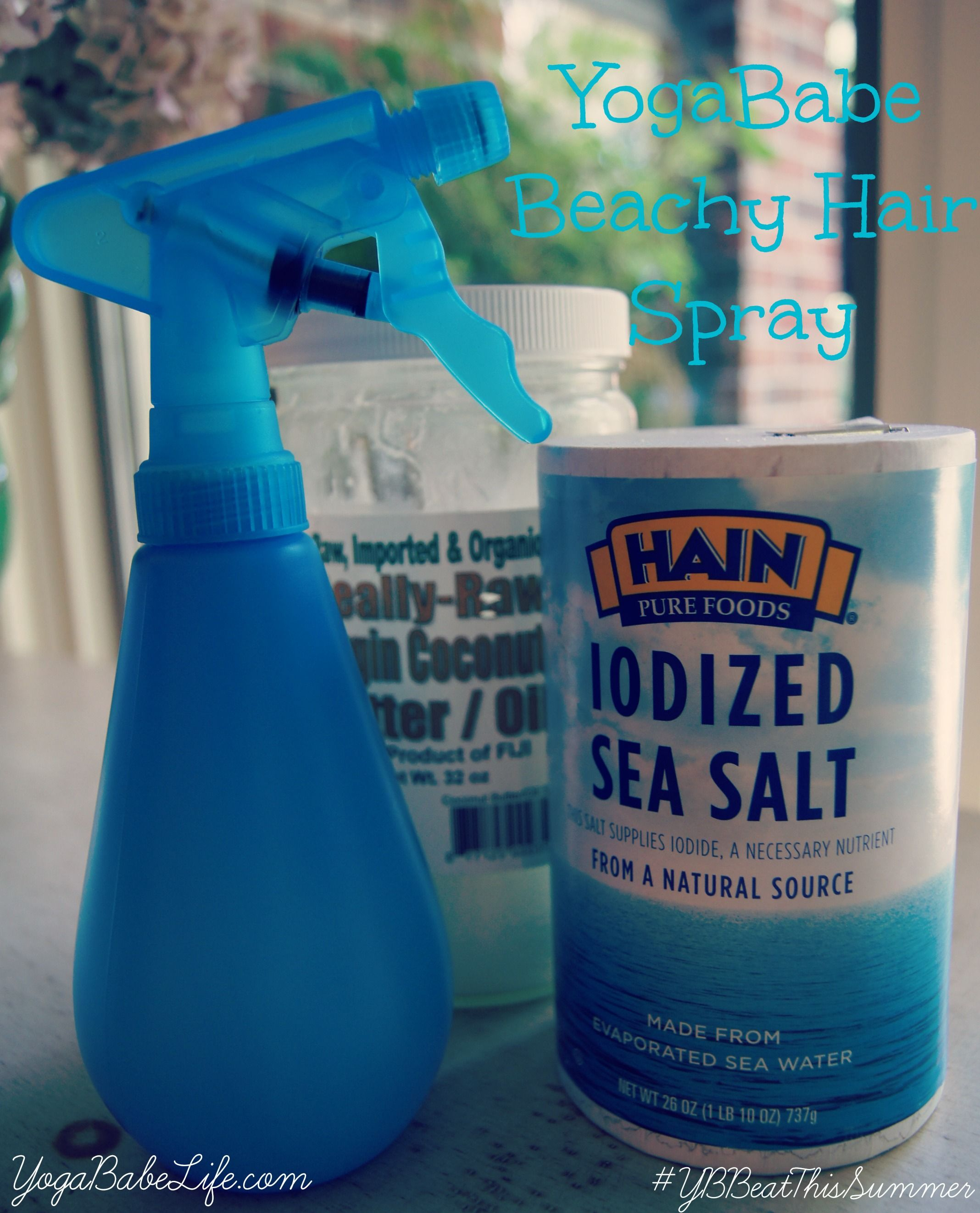 SALT HAIR, DON'T CARE: DIY SPRAY | YogaBabe