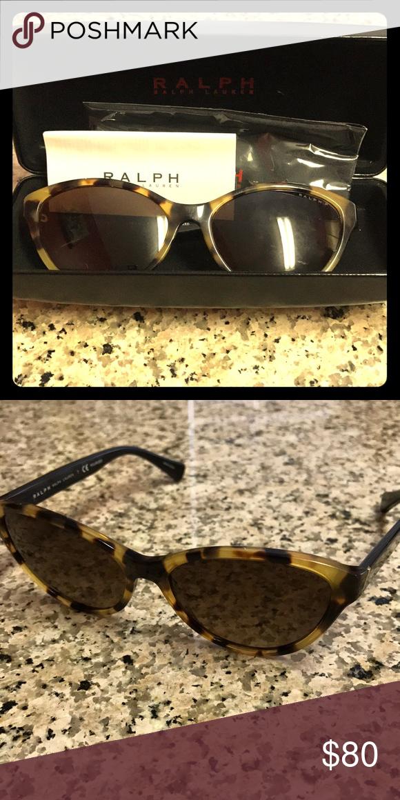 550285f1d986 Ralph Lauren leopard sunglasses Never worn, Ralph Lauren sunglasses with  case! Ralph Lauren Accessories Sunglasses
