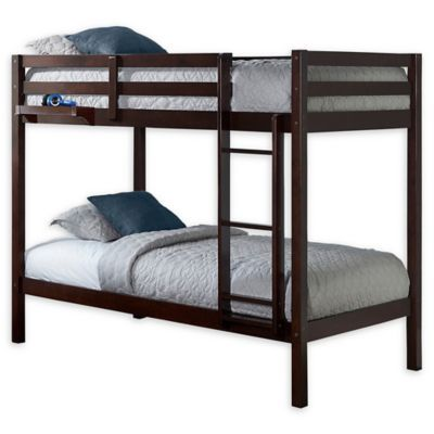 Hillsdale Caspian Twin Bunk Bed With Hanging Nightstand Buybuy Baby Twin Bunk Beds Bunk Beds Bunk Bed Designs