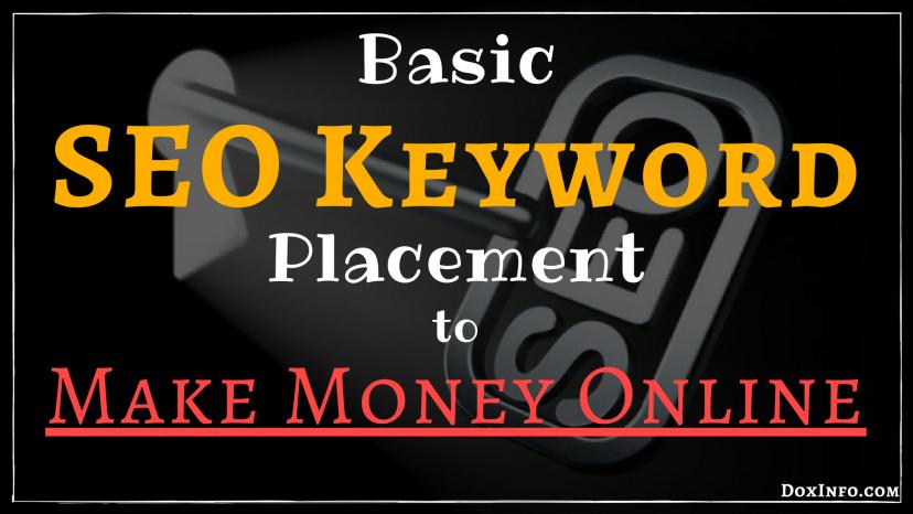 key words to make money online