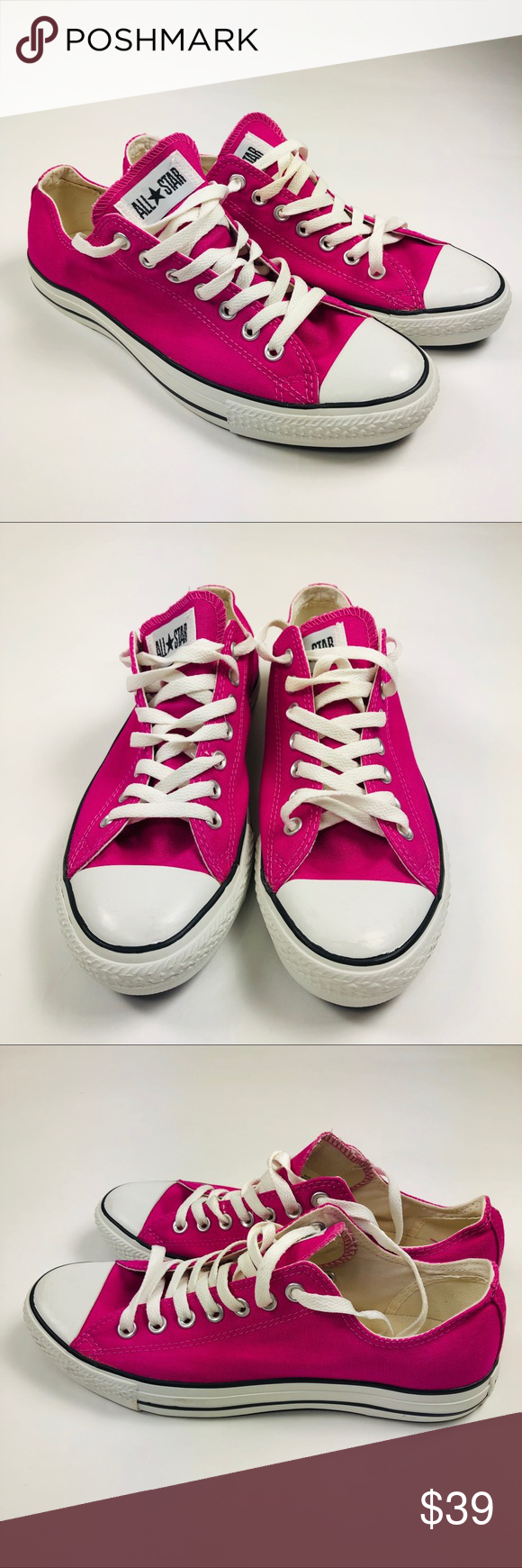 84013314def1 Converse All Star Low Sneaker Pink Men 9 Women 11 NWT in 2018