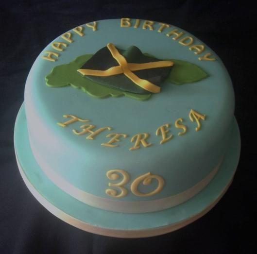 Jamaican Cake Designs Jamaican Birthday Cake Desserts Cakes