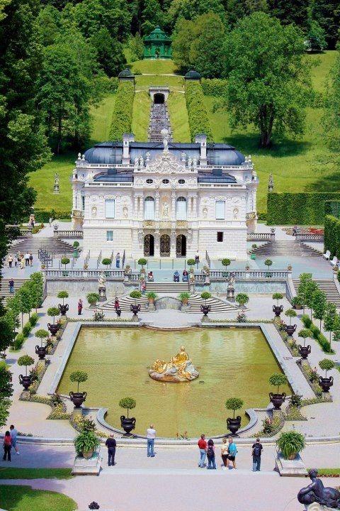 Schloss Linderhof Castle Bavaria Germany Bayern Deutschland Castillos De Alemania Lugares Preciosos Castillos