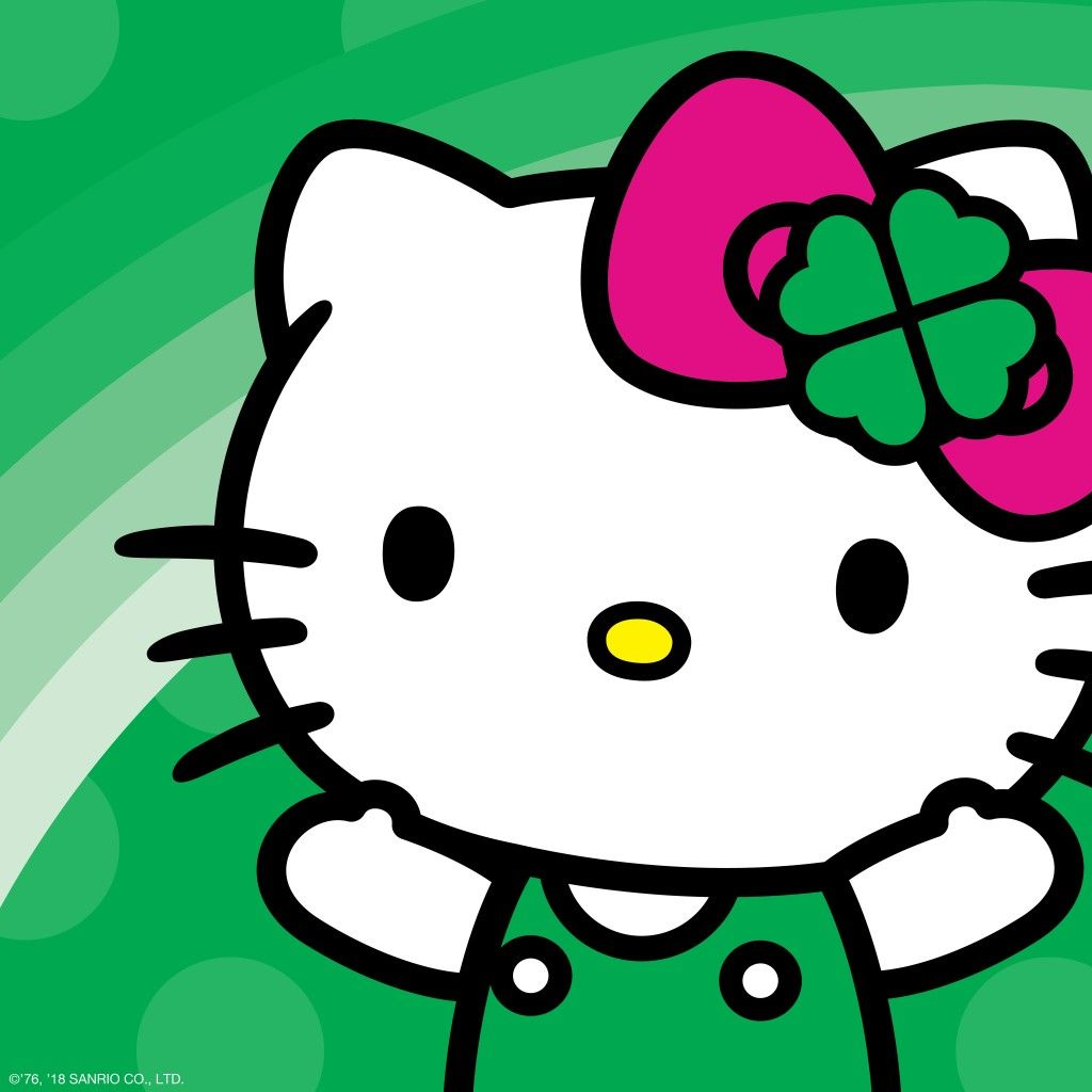 Have a supercute St. Patrick\'s Day! | Hello Kitty | Pinterest ...