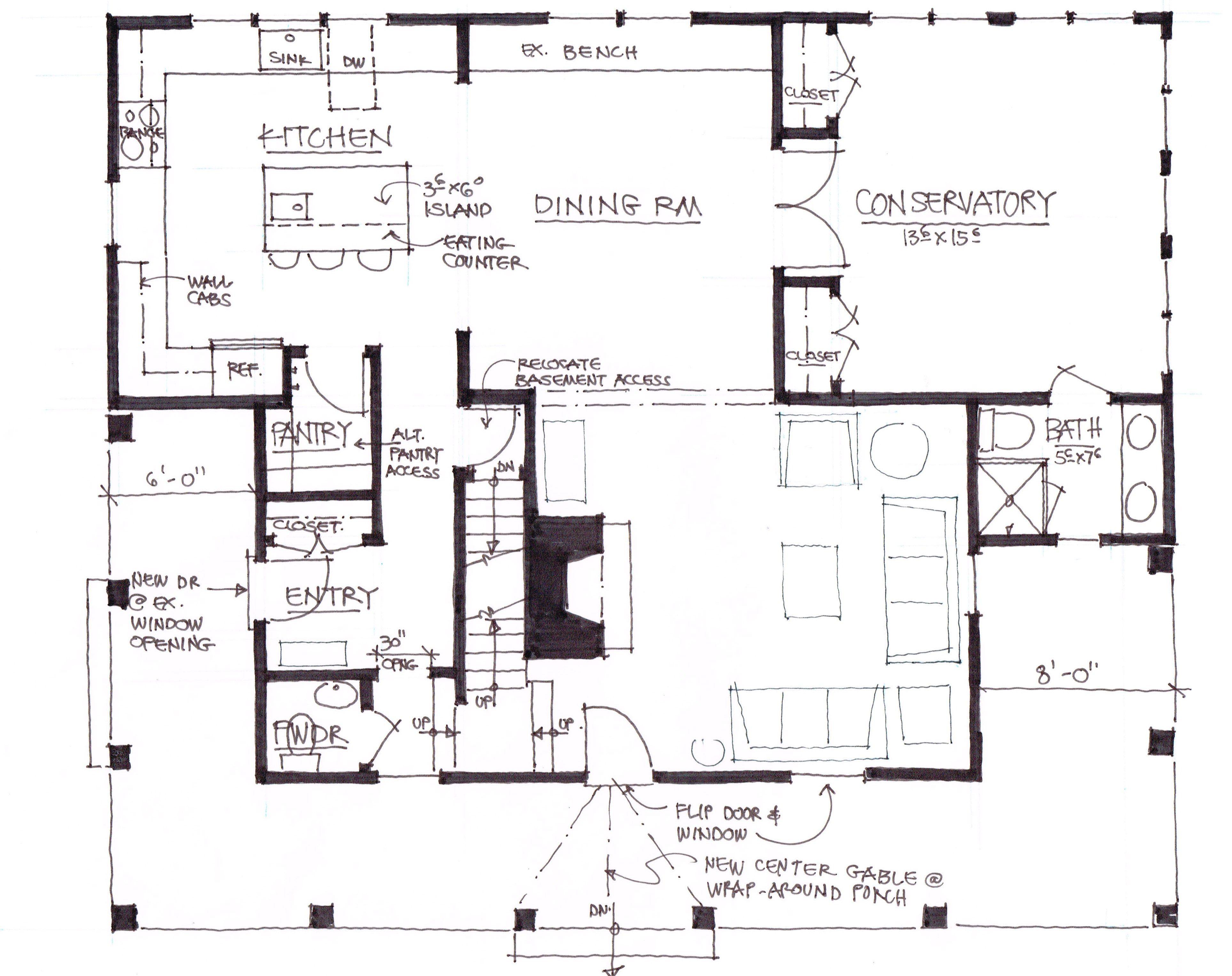 Coraline house floor plan