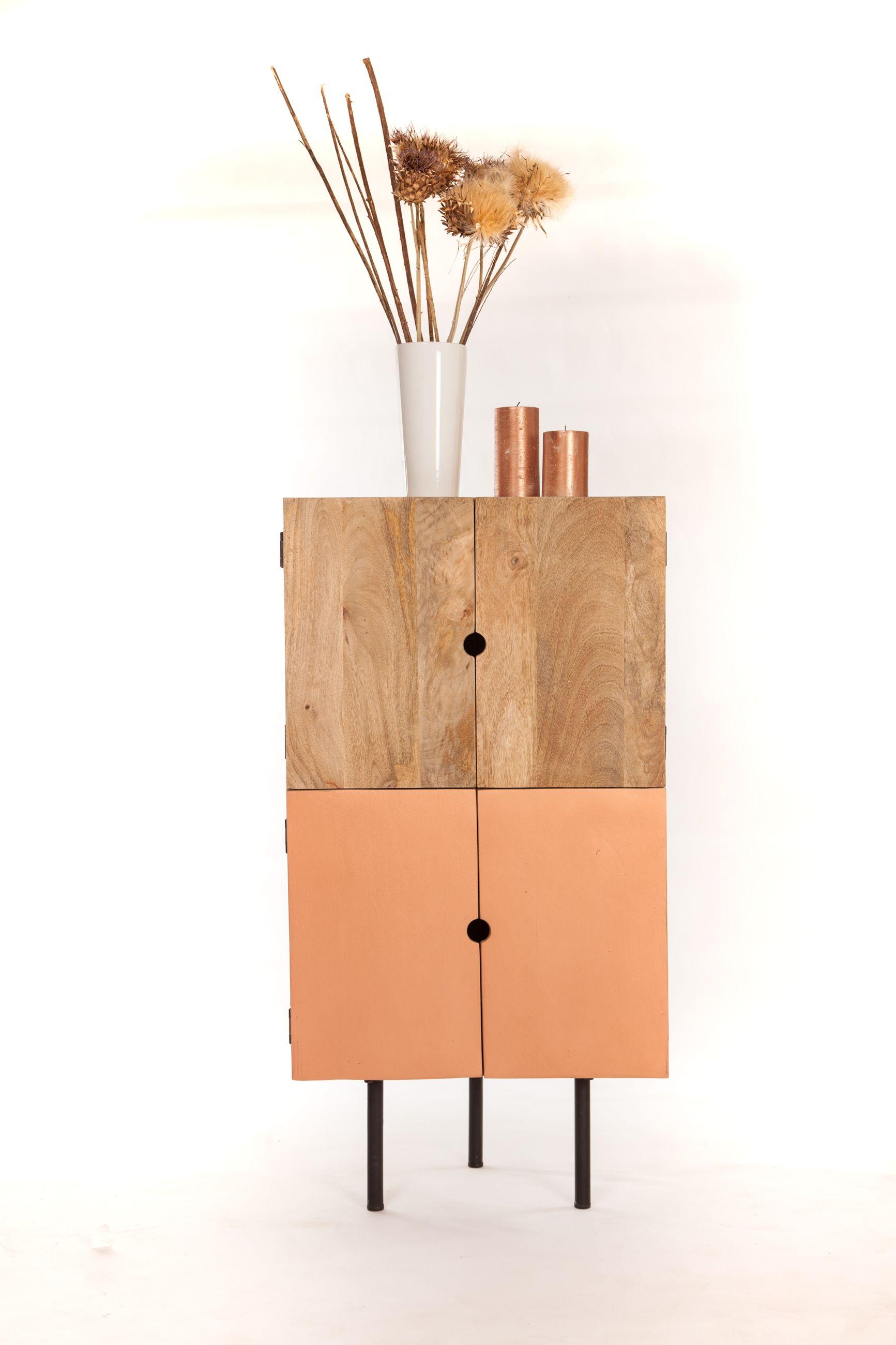 meuble d angle design bois meuble d