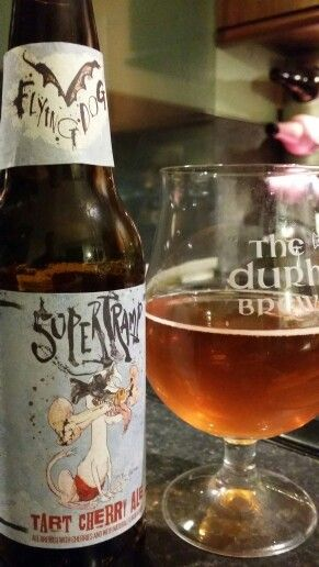 Flying Dog SuperTramp Tart Cherry Ale. Watch the video Beer review here…
