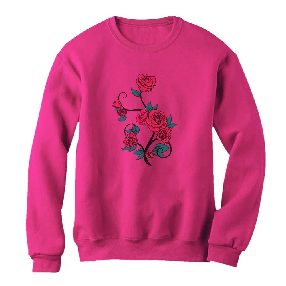 Roses Summer Fashion Women Sweatshirt