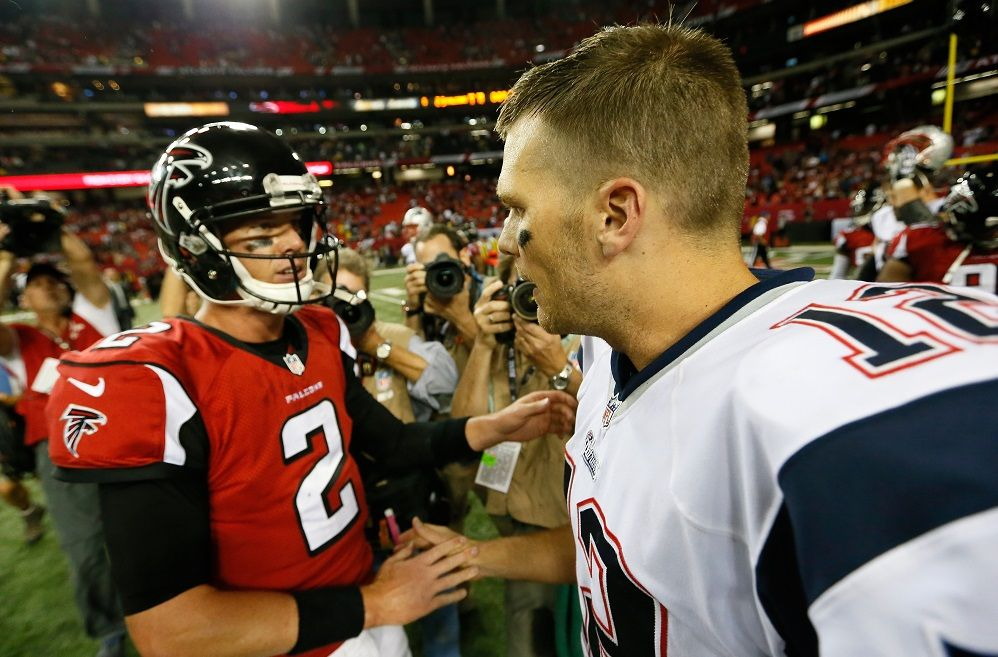 Super Bowl 51 Tom Brady's Patriots vs Matt Ryan's Falcons