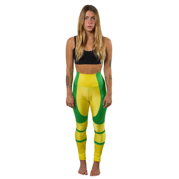 6ee436237a6357 Curve Hugging X-Men Rogue Inspired Superhero Comic Book Cosplay Leggings/ Tights Wear as a Creative Addition to an Existing Costume or Cosplay, ...