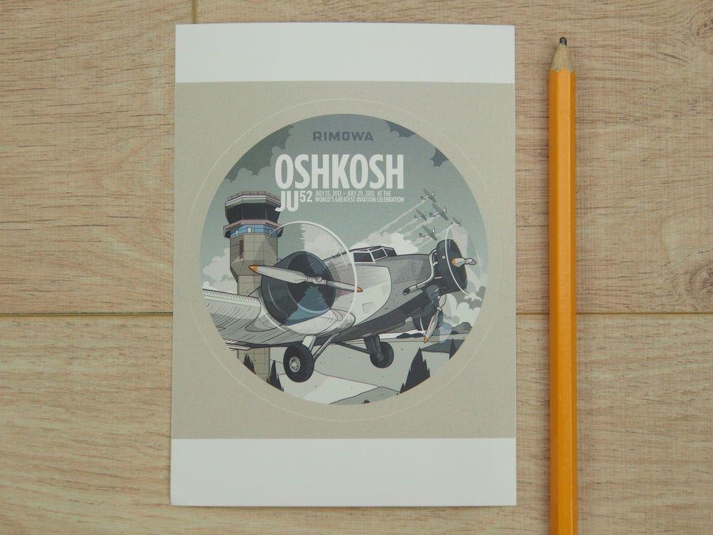 Rimowa Original Oshkosh Sticker   eBay