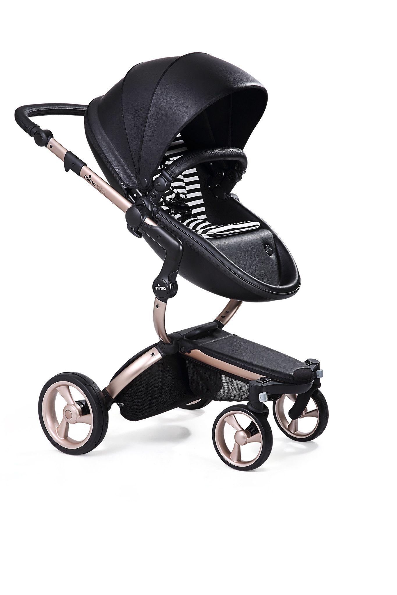Mima Xari Black Seat, Black/White Starter Pack The