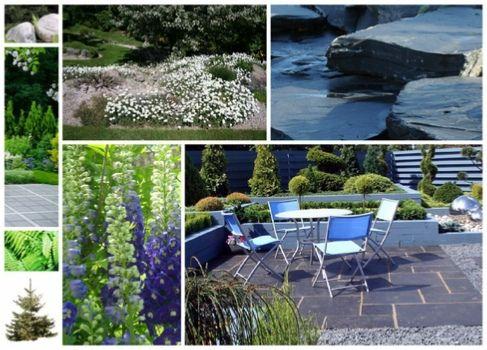 Aménagement extérieur et plan 3D de jardin fraicheur montagnarde - amenagement jardin avec spa