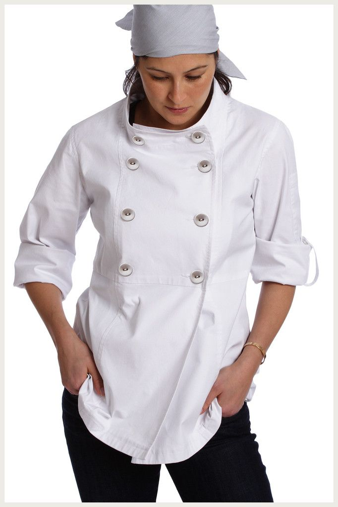 Designer Chef Jacket - Womenu0026#39;s Trench | Trench Sewing Rooms And Apron
