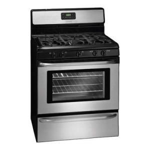 Frigidaire 30 in 42 cu ft Gas Range in Stainless Steel