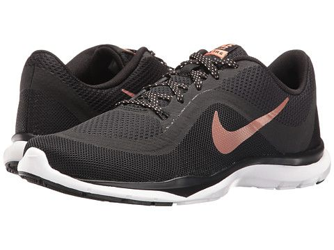 68e04e8636409 Nike Flex Trainer 6 Black White - Zappos.com Free Shipping BOTH Ways ...