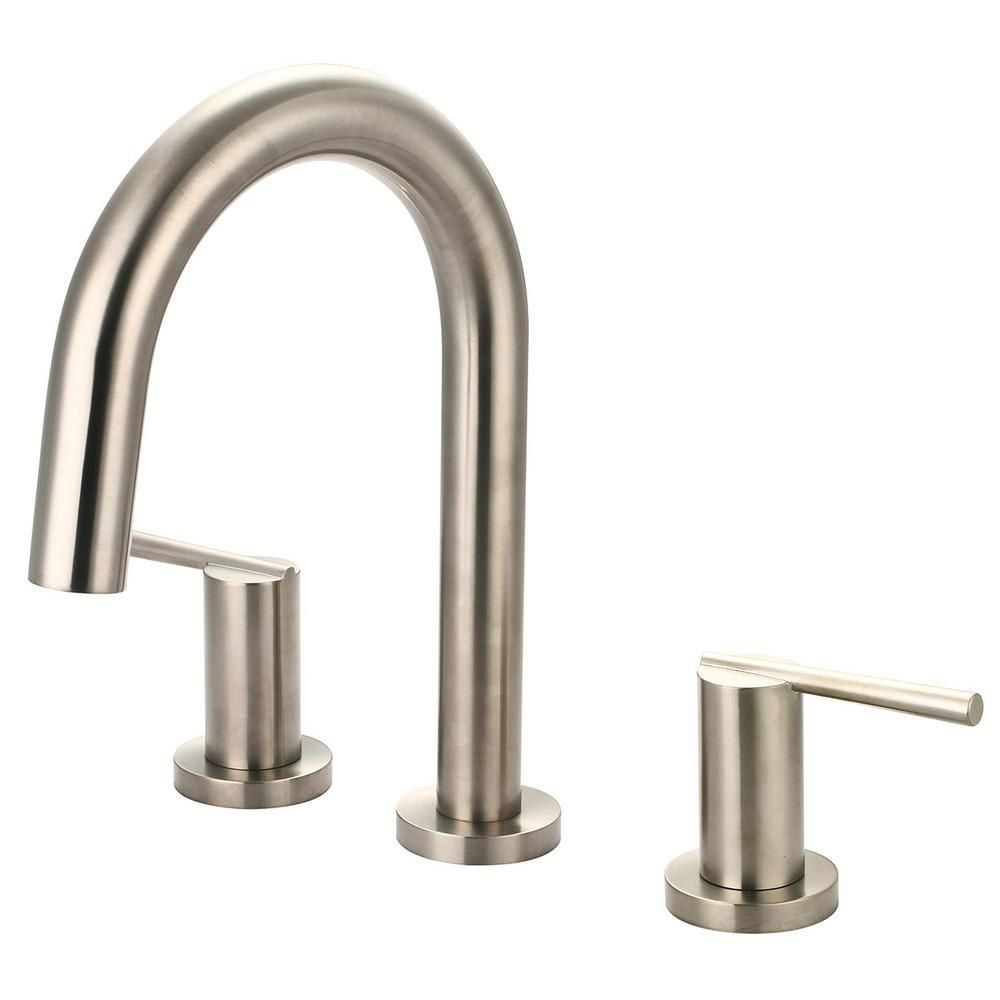 Olympia Faucets I2v 2 Handle Deck Mount Roman Tub Faucet With