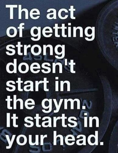 Once you're at the gym you can keep yourself going. The hard part is getting there. JUST GO!