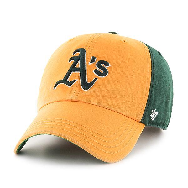 c1097f90492 Oakland Athletics Flagstaff Clean Up Dark Green 47 Brand Adjustable ...