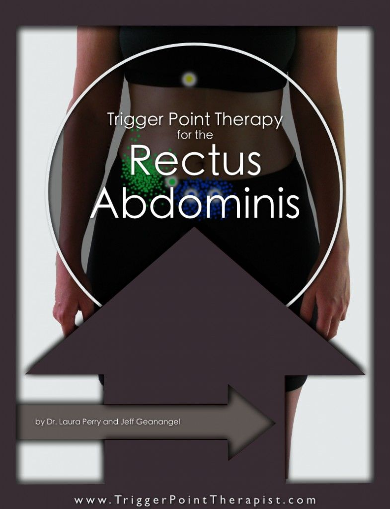 Trigger Point Therapy for Rectus Abdominis   Abdominal Exercises ...