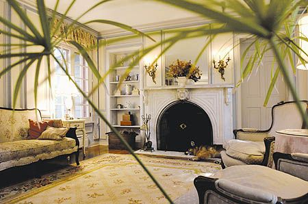 Love the 1865 marble mantel in this home. That'll be in the next house!