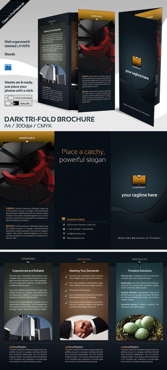 45+ Free Brochure Templates PSD Download Free brochure, Brochure - free pamphlet design