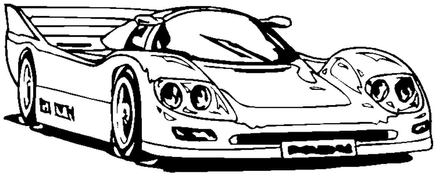 Ferrari Enzo Car Coloring Page