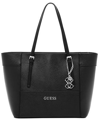 GUESS Delaney Small Classic Tote - Guess - Handbags   Accessories - Macy s 5814c355fd148