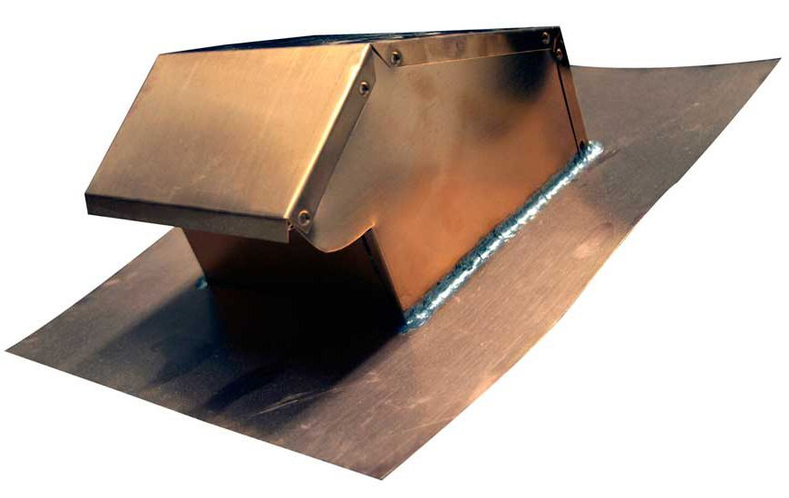 Salvo 503 Copper Roof Vents Copper Roof Roof Vents House Roof Design