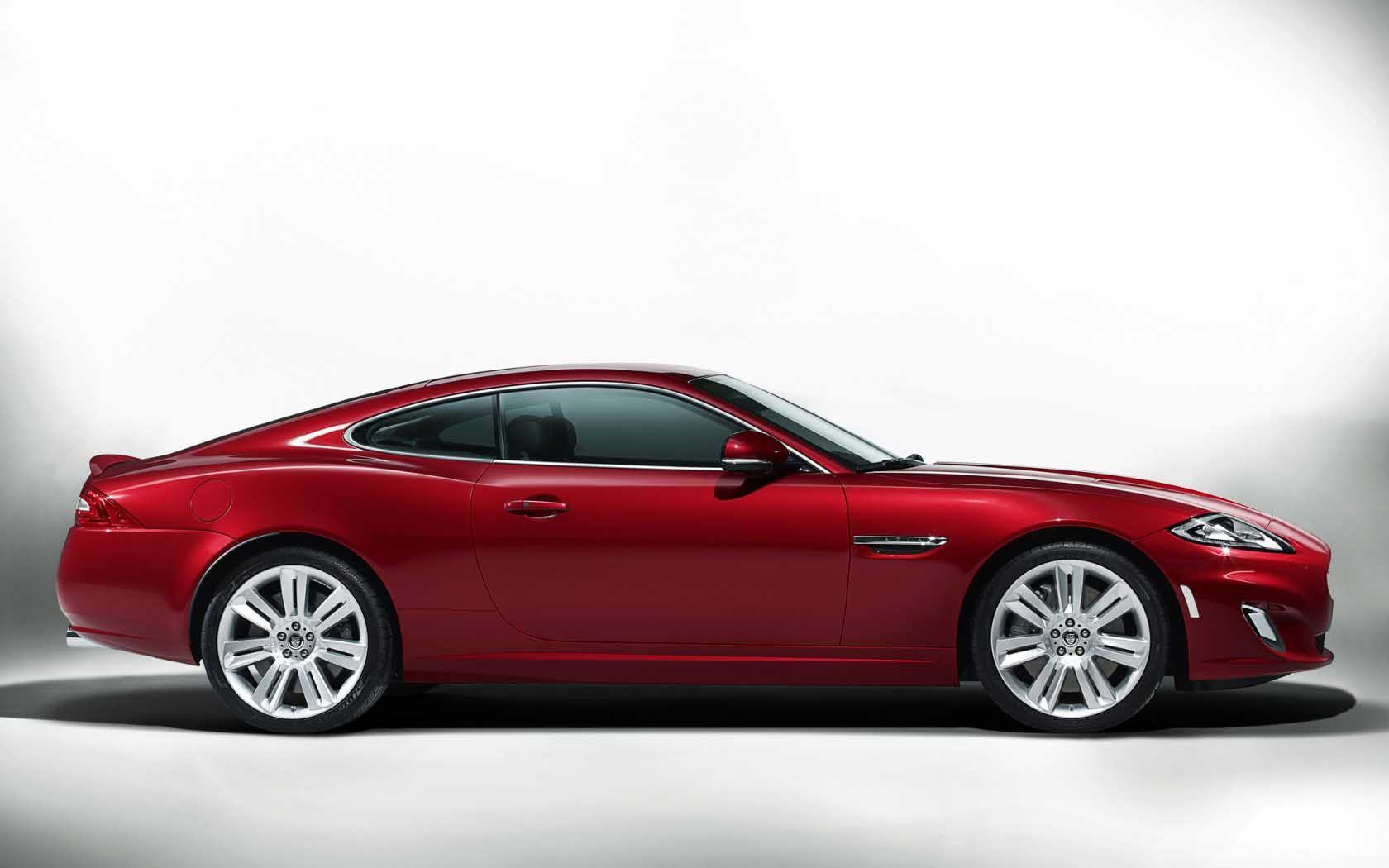 Perfect Red Jaguar Car Wallpaper Widescreen