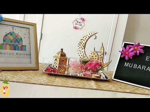 DIY Ramadan centerpiece for dining table | Diy Ramadan decor | Ramadan table settings