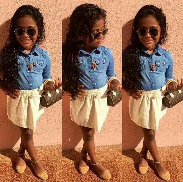 dbdf0dc981f1 Baby you got swag Beautiful black kids. Cute little girl   boys ...