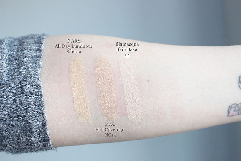 Nars All Day Luminous Weightless Foundation Siberia